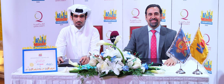 Kidzmondo Doha Signs A Partnership Agreement With Qatar Charity