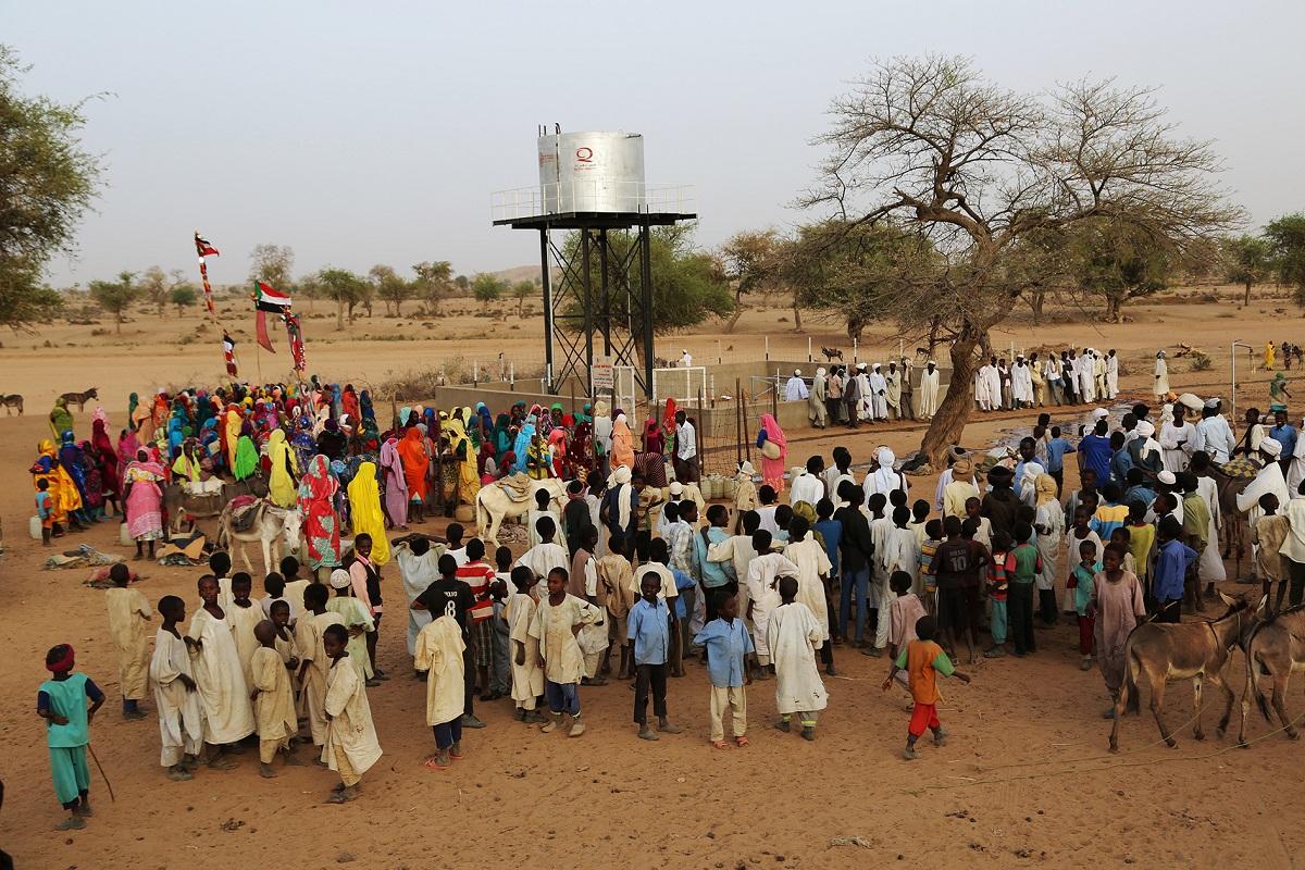 محطة مياه تعيد الحياة إلى قرية الهشابة في دارفور