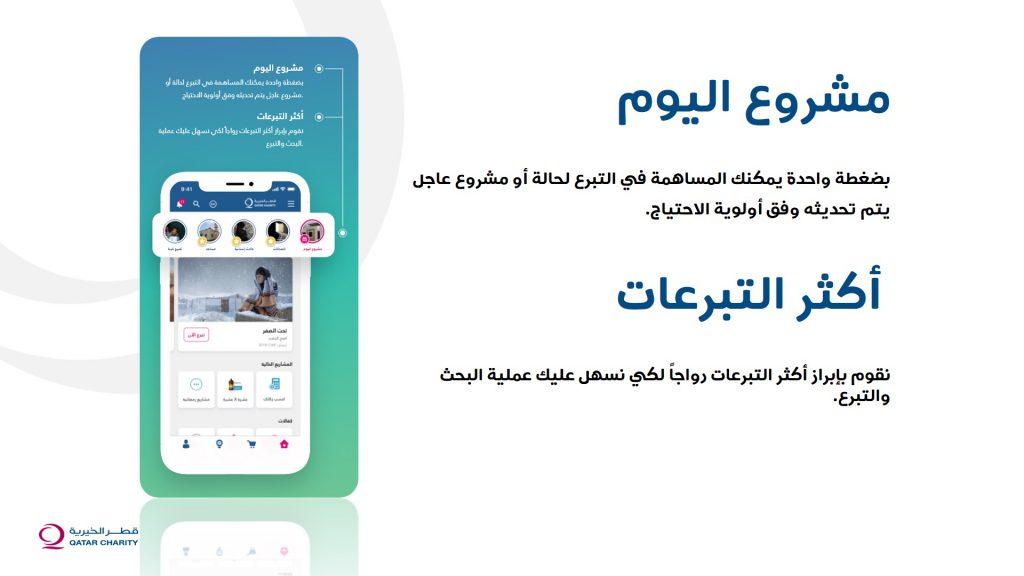 تطبيق قطر الخيرية
